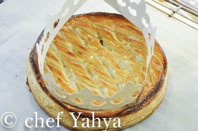 La galette frangipane à la pâte feuilletée inversée