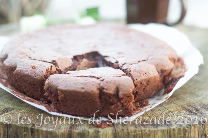 fondant au chocolat creme de marrons