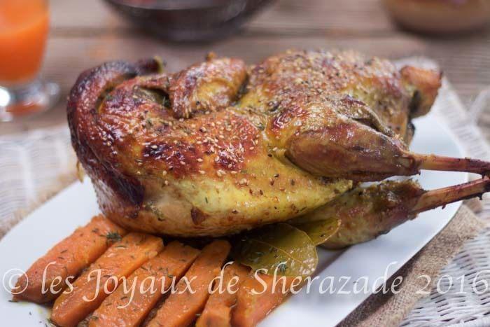 Recette de pintade au four en cocotte blogs de cuisine - Cuisiner un chapon au four ...