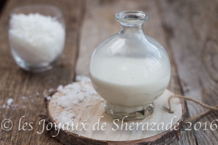 lait de coco maison
