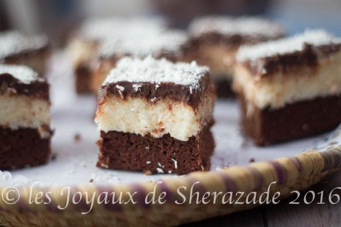 brownies à la noix de coco -0092