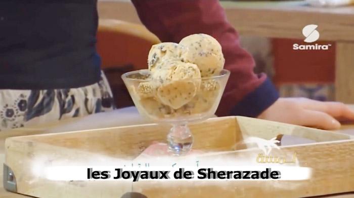 Crème glacée sans sorbetière au potiron