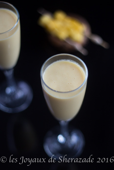 lassi de mangue facile