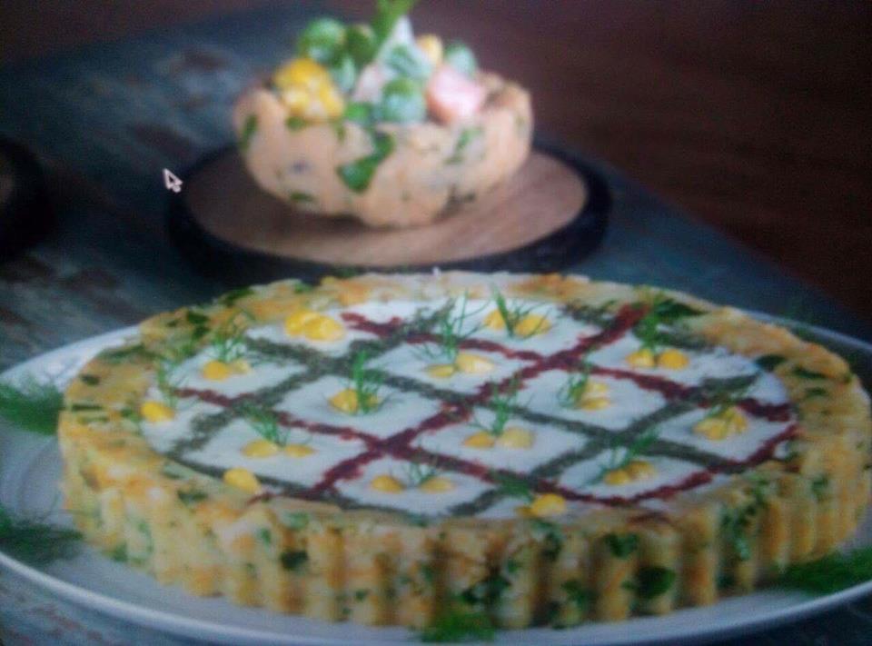 Présentation de Salade de Pommes de Terre