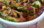 Enchiladas aux courgettes et au poulet