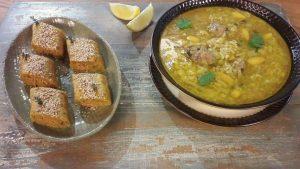Makrout Salé aux pommes de terre et farci, Lamset Chahrazad