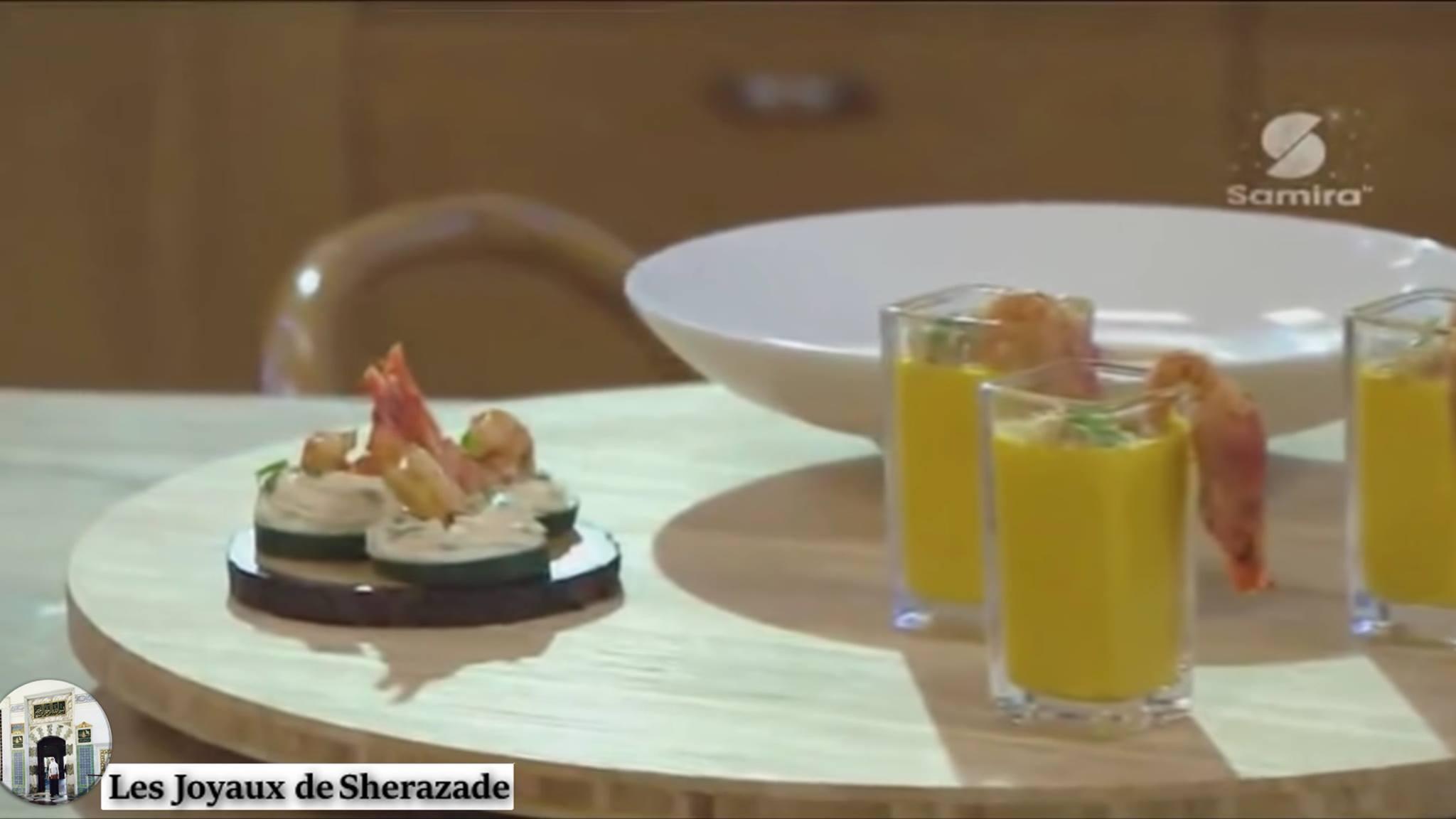 Chtitha, soupe, verrine et amuse bouche de crevettes