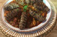 Kefta Grillée et Sauce Courgettes