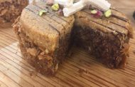 Gâteau de couscous au chocolat , lamset chahrazad