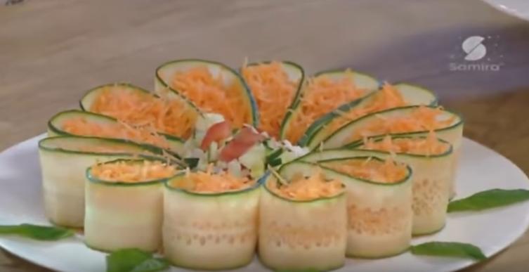 Decoration salade