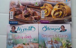 Livres de recettes de mon émission Lamset Chahrazad en Algérie