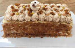 Tiramisu gourmand façon bûche - Lamset Chahrazad