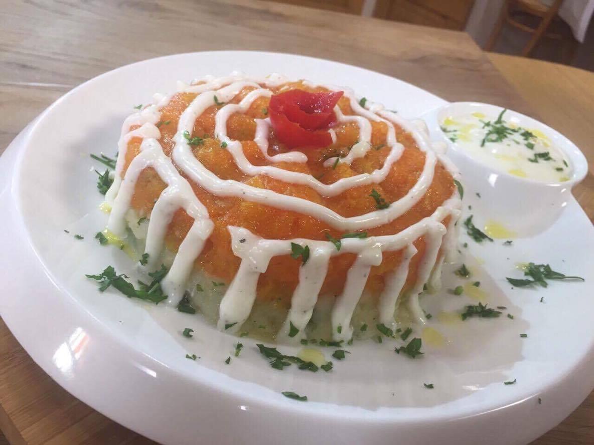 Salade au yaourt