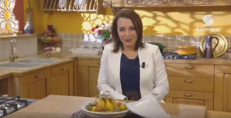 Tajine de poulet aux légumes farcis1