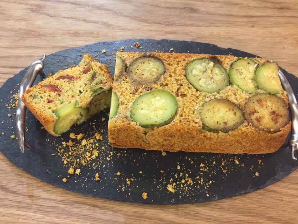 Cake aux légumes sans gluten