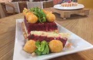 Salade de pommes de terre, betteraves et carottes