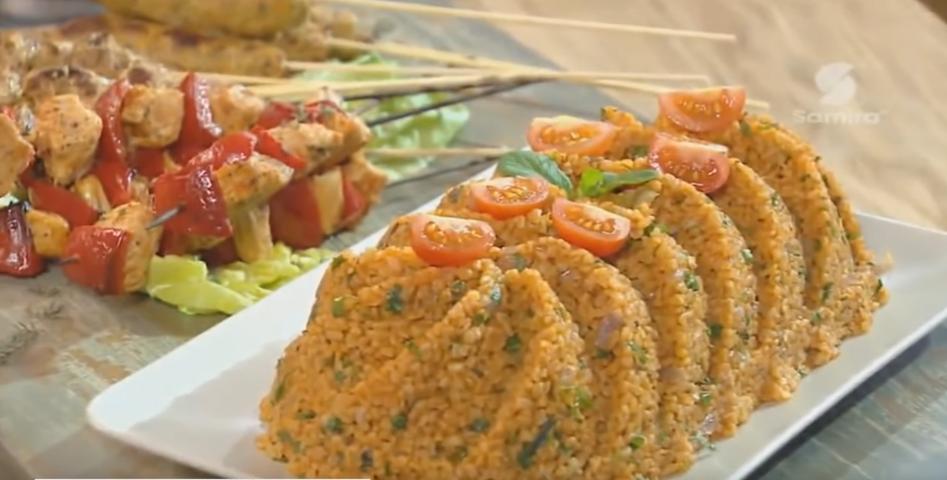 Boulghour à la tomate, Lamset Chahrazad
