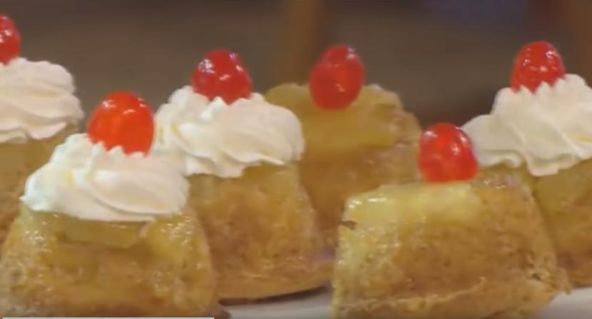 Mini cake ananas3