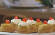 Mini cake renversé à l'ananas, Lamset Chahrazad