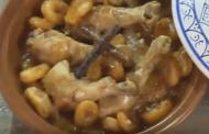 Tajine de poulet aux abricots et aux pains d'épices, Lamset Chahrazad