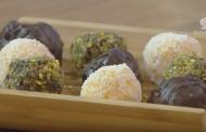 Truffes au chocolat et aux dattes, Lamset Chahrazad