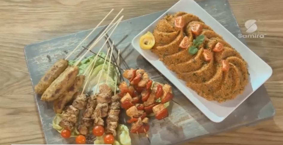 Brochettes de dinde : aux sésames, aux poivrons, aux légumes