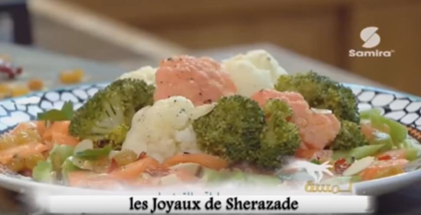Salade de choux fleur, (Selatat El zahra)