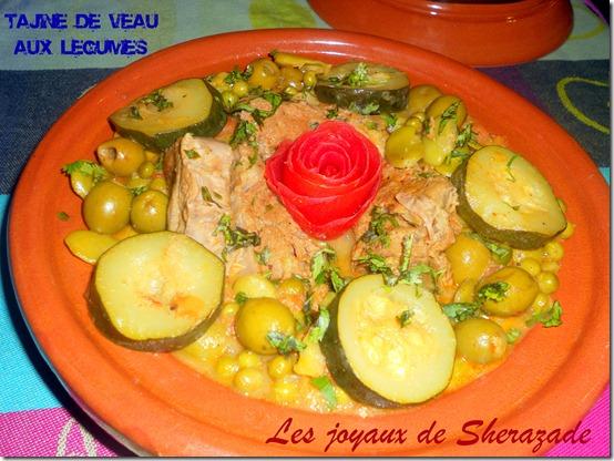 Tajine au veau aux légumes de printemps