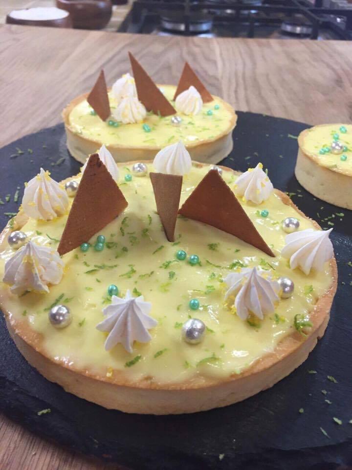 tarte au citron façon mojitos
