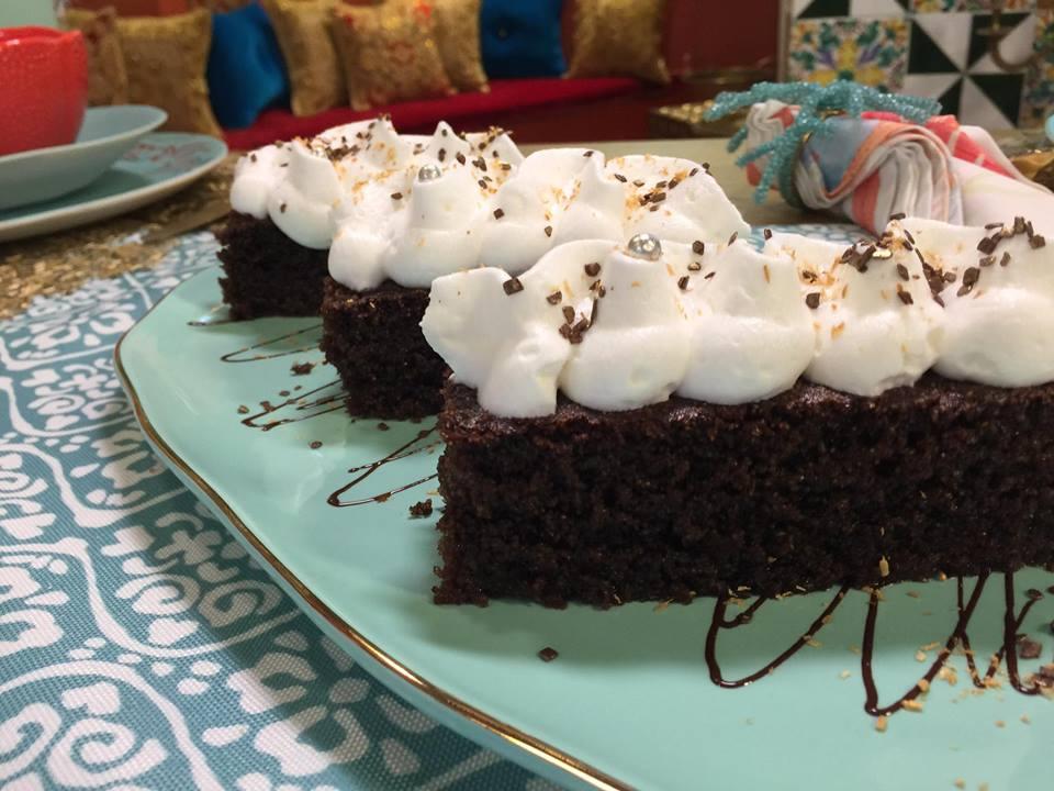 Basboussa au chocolat, Samira TV