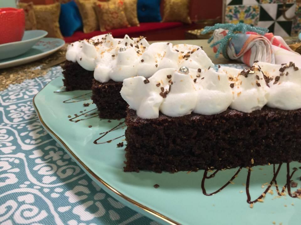 Basboussa au chocolat4