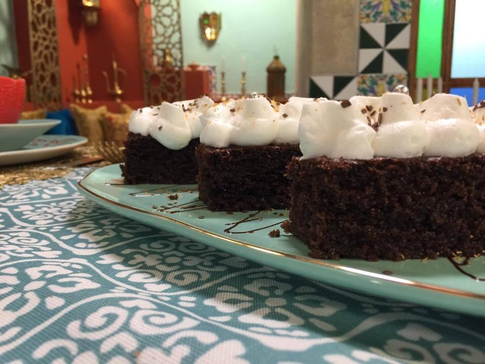 Basboussa au chocolat5