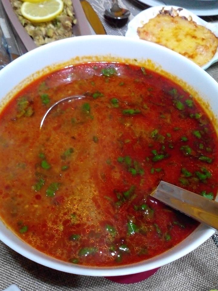 chorba frik, soupe algérienne -Flo