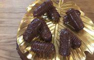 Bounty maison, barre chocolatée à la noix de coco