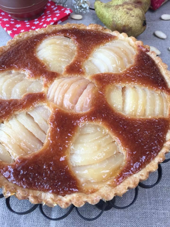 Tarte aux poires (bourdaloue) CAP pâtissier