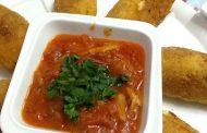 Croquettes de pommes de terre à l'ail et au fromage