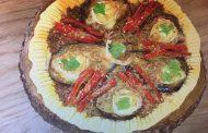 Tarte aux aubergines et poivrons, Lamset Chahrazad