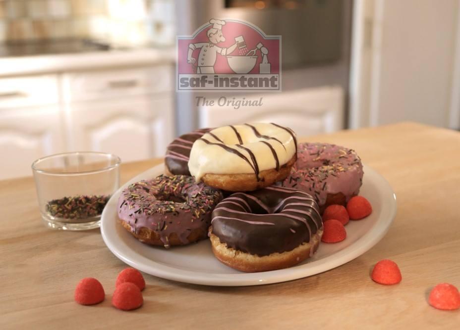 Recette de donut facile: saf-instant