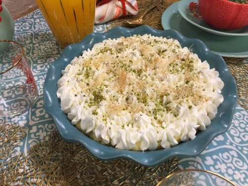 kataif à la chantilly