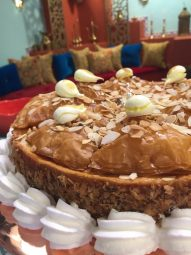 baklawa façon cheesecake