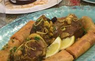 Cuisine algérienne, tajine d'agneau au bourek