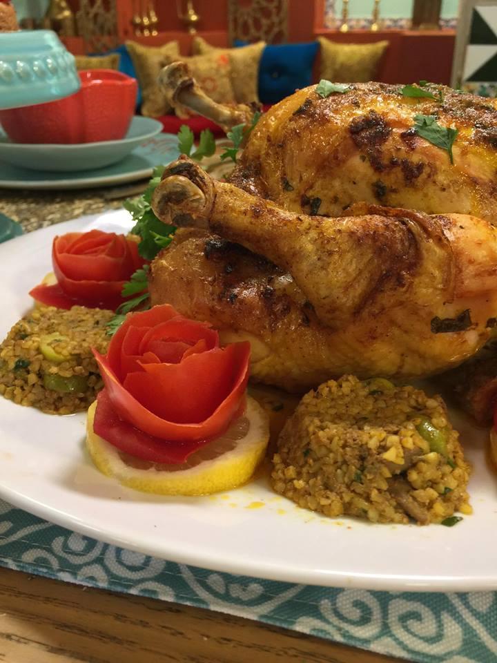 recette de poulet farci