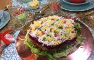 Décor salade algérienne, samira tv