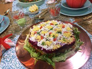 decor salade algérienne