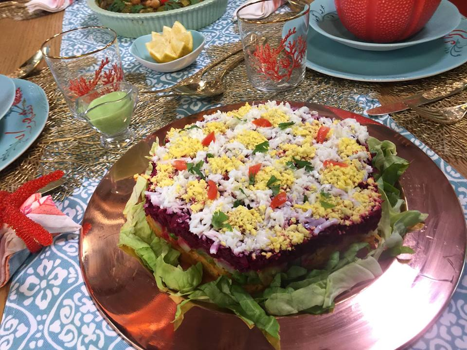 D cor salade alg rienne samira tv blogs de cuisine for Samira tv cuisine