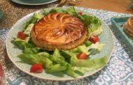 Tourte au thon et légumes façon galette des rois