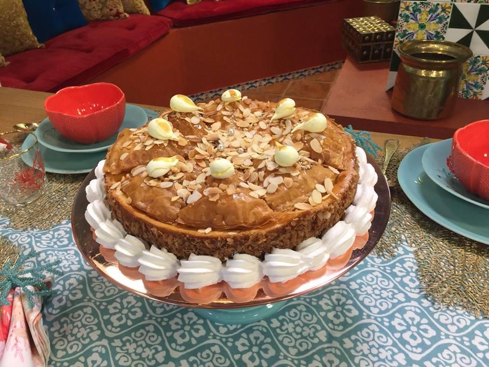 baklawa cheesecake