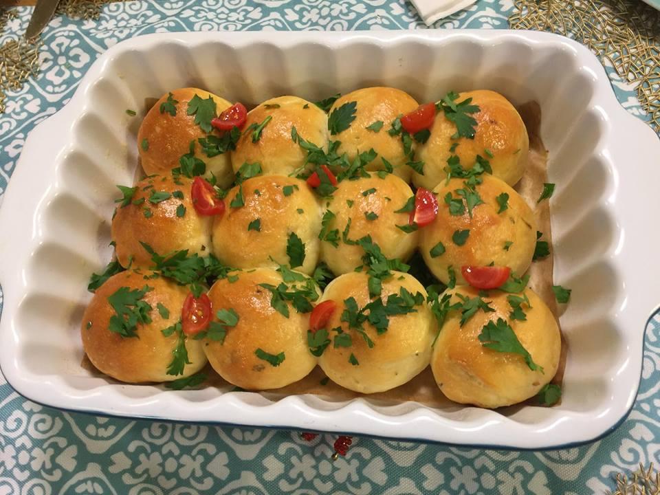 pain à l'ail huile d'olive