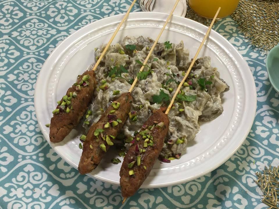 recette turque kebab aubergine
