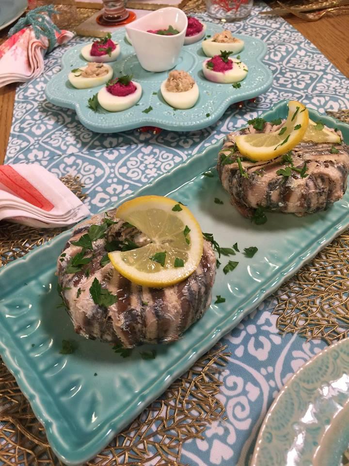 terrine de sardine au four